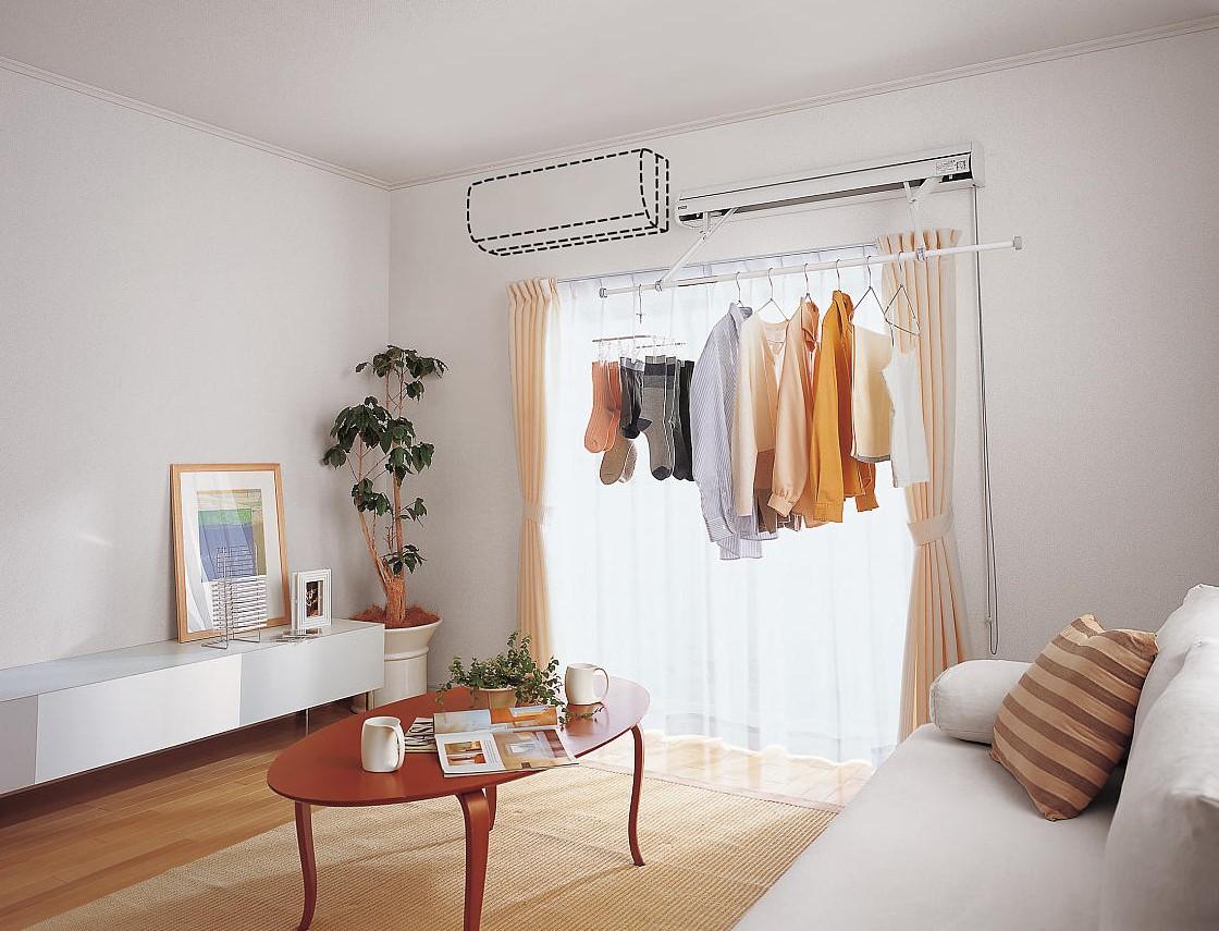 パナソニックの室内物干しユニット ホシ姫サマのイメージ画像②