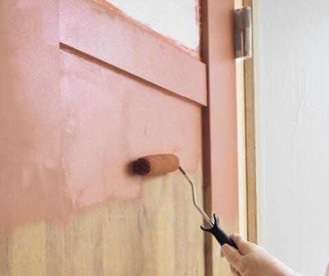 クラフトレーベルドア 塗れるドア 体験
