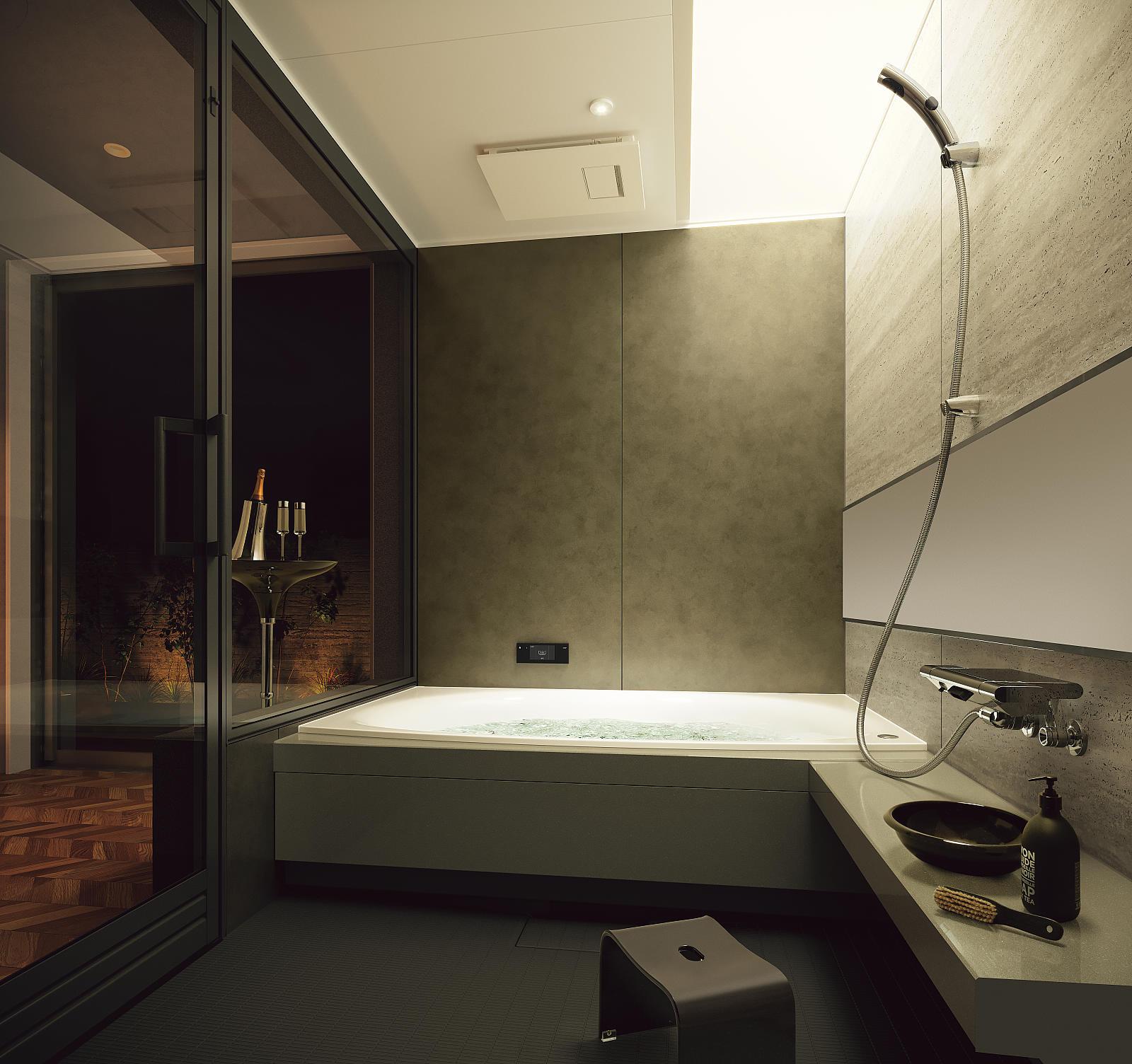 パナソニック バスルーム:水盤照明のイメージ画像①